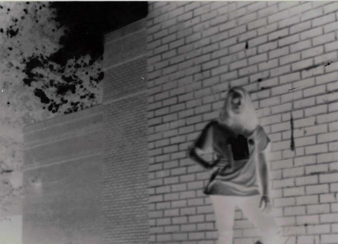 This Is My Self Portrait Negative And Positive I Took With Shoebox Pinhole Camera Getting The Exposure Was Extremely Trial Error Dependent On